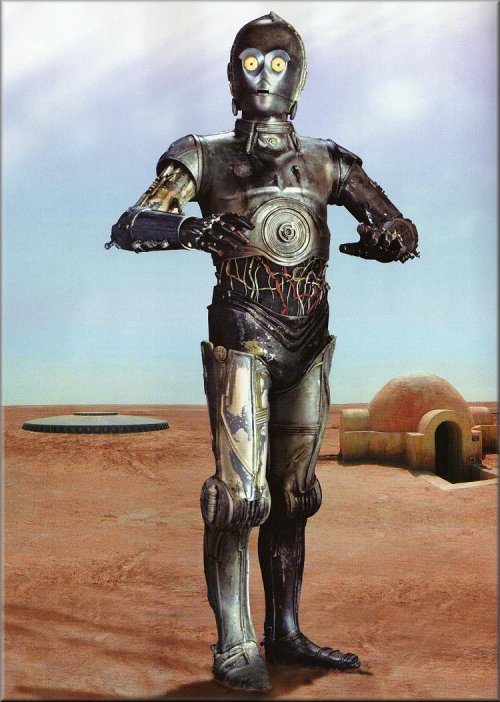 C3PO-Human Cyborg relations