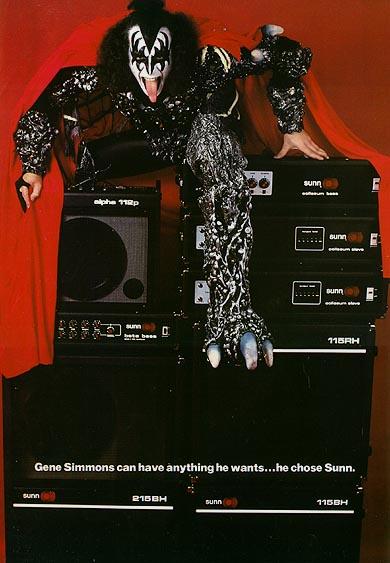 Gene's Endorsement for Sunn Amps
