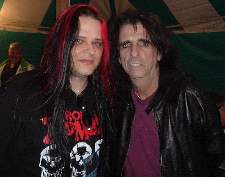 Ponch & Alice Cooper 8.18.04