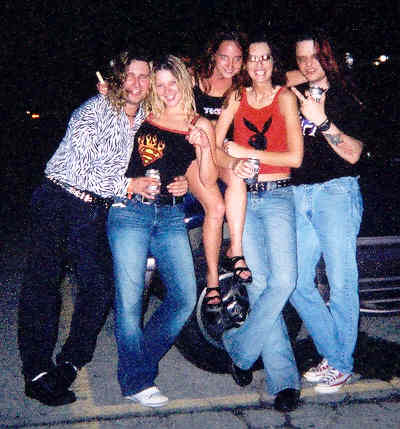 At the Poison concert 2002