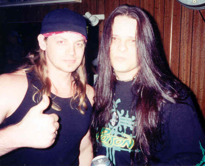 with Stevie Rachelle of TUFF