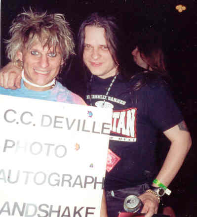 CC Deville of Poison & Ponch